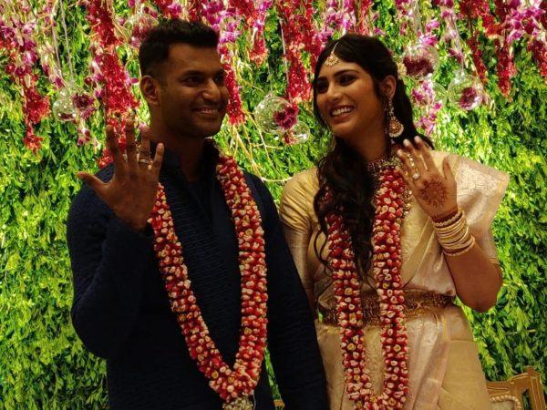 Vishal-Anisha Not A Couple?!