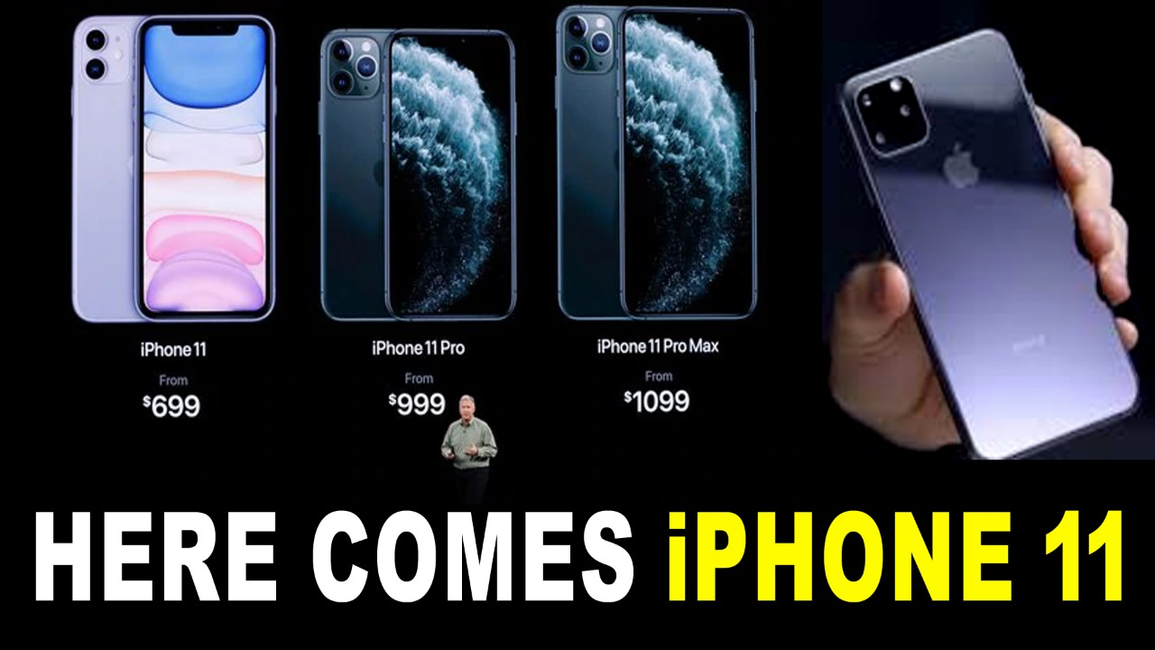 Here Comes iPhone 11