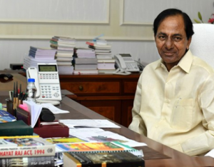 telangana govt stops all new projects and tenders for non availability money and deficit, లూటీ అయిన ధనిక రాష్ట్రం